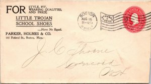 Parker Holmes Boston Little Trojan School Shoes > Concord NH 1899 ad cover