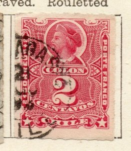 Chile 1884 Early Issue Fine Used 2c. NW-11407