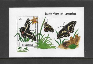 LESOTHO #773  BUTTERFLY-CITRUS SWALLOWTAIL  MNH