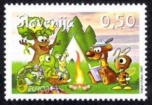 Slovenia Sc# 713 MNH 2007 Europa