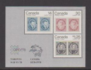 CANADA S/S  MNH STAMPS  #756a  LOT#PB96