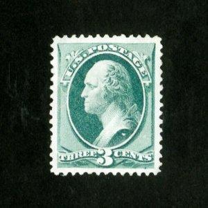 US Stamps # 158 Superb Tiny corner crease dist OG LH