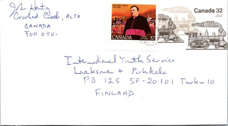 Canada, Postal Stationary, Trains