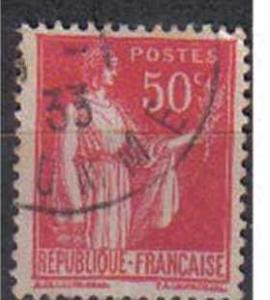 FRANCE, Peace, 1932, used 50c. red