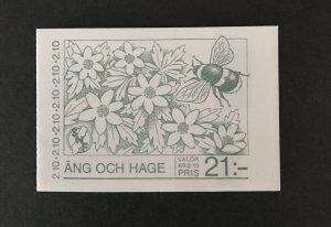 Sweden 1987 #1624a Booklet MNH SCV $10
