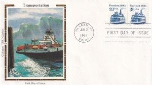 1995, Ferryboat-190's, Colorano Silk, FDC (E11991)