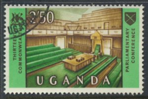 Uganda  SG 130  Used  1967  Conference Chamber   SC# 114  See scan