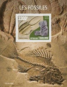TOGO 05 11 2019 Code: TG190544a-TG190564b. Fossils. Blok.