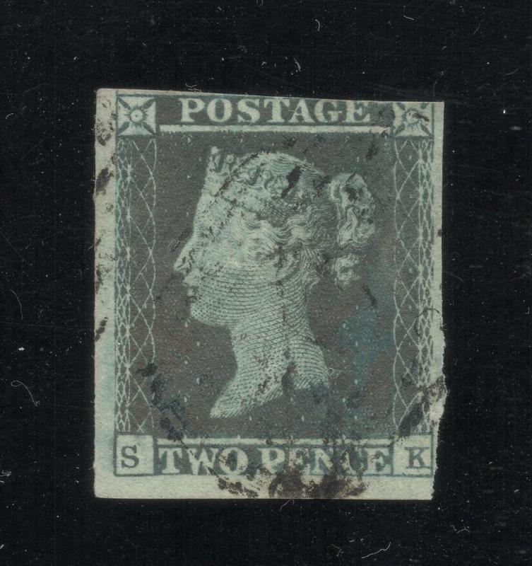 #4 Violet Blue - Rare Color Variation - Used - Cat.$1,000.00