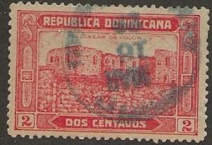 DOMINICAN REPUBLIC SC #  243   USED