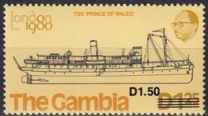 Gambia #497A MNH CV $40.00 (A19550)