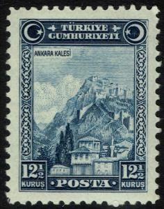 Turkey 680 MNH - Ankara Fortress (1929)