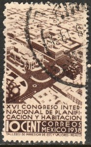 MEXICO 743 10c Planification Congress. Used. F-VF. (290)