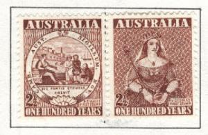 Australia Scott 228-229 = 229a MNH** pair