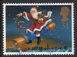 Great Britain 1997  used Christmas  31p    #