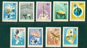 R4-0011 HUNGARY 1659-67 MNH  SCV $2.85 BIN $1.55 (12)