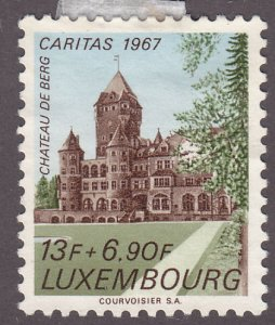 Luxembourg B263 Castle of Berg 1967