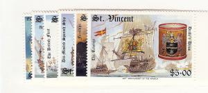 St. Vincent, 1100-05, Ships & Artifacts, Singles, MNH