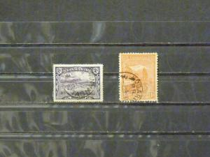 2830   Tasmania   Used, VF  #  88, 103             C.V. $ 4.10