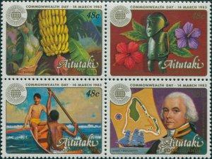 Aitutaki 1983 SG430-433 Commonwealth Day MNH