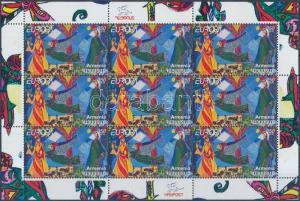 Armenia stamp Europa CEPT childrens books minisheet MNH 2010 Mi 713 WS165066