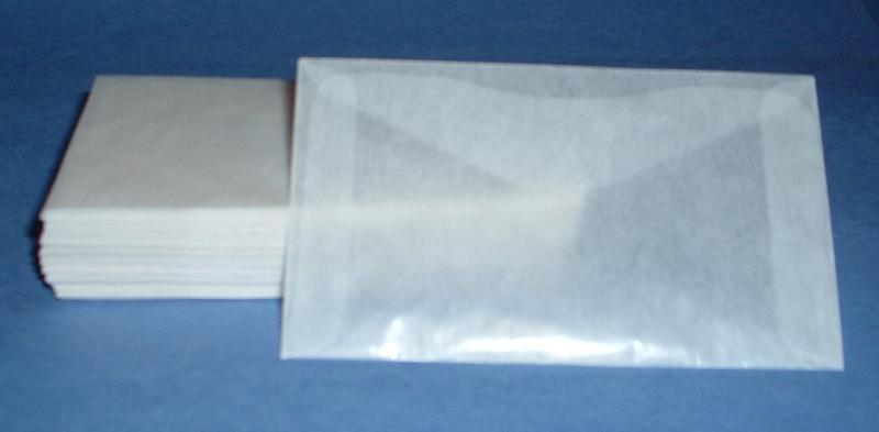 Glassine Envelopes #3-2 1/2 X 4 1/4,Lot 200, 00014*