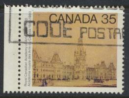 Canada SG 975 Used  left margin