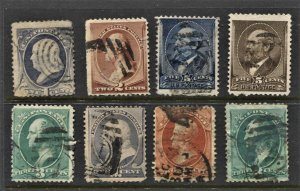 STAMP STATION PERTH -US #8 Early Used Stamps - Unchecked
