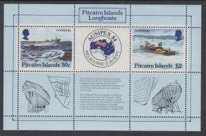 Pitcairn Islands 248 Souvenir Sheet MNH VF