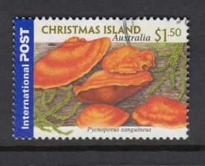 Christmas Island 2001 $1.50 Fungi