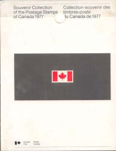 1977 Annual Collection The Postage Stamps of Canada
