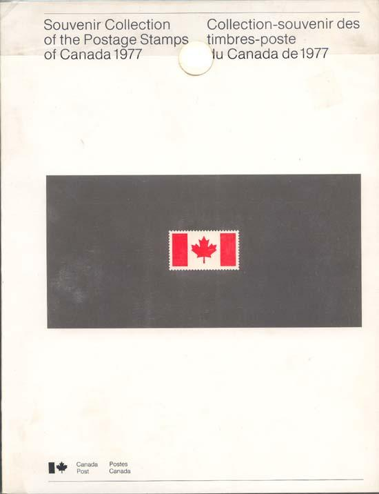 Souvenir Collection The Postage Stamps of Canada 1977 - USC AC#20 Cat. $40.