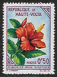 Burkina Faso # 111 Hibiscus - MNH . . . {GR41}