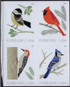 United States 5320a - Mint-NH - (50c / Forever) Winter Birds (2018) (cv $3.40)