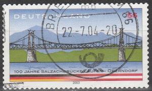 Germany #2245 F-VF Used  (S3919)