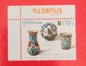 Armenia 2017 RCC Omnibus 2017 : Handicrafts - Ceramics of Kutahya mint**