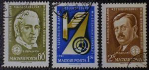 Hungary Scott #1400-1402 used