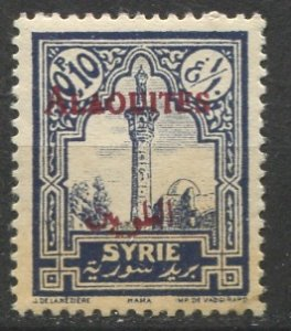 Syria - Alaouites; 1925: Sc. # 25 *+/MLH Single Stamp
