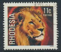 Rhodesia   SG 561 SC# 399  Used  Lion  see details