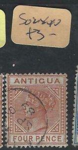 ANTIGUA   (PP0807B)  QV  4 D  SG 28 CDS   VFU