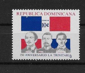 DOMINICAN REPUBLIC STAMP MNH #JULIO CV17