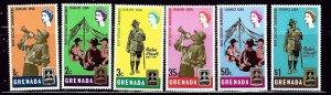 Grenada 268-73 MNH 1968 Boy Scouts    (ap2545)