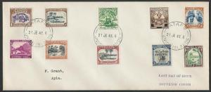 TOKELAU IS 1948 cover - last day of Samoa PO - used from ATAFU.............11475