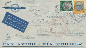 Covers Zeppelin 1939 Airmail Argentina Germany Condor Luftpost South America 4