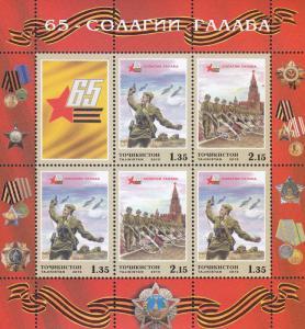 O) 2010 TAJIKISTAN, ARMED FORCES-SOLDIERS, EMBLEM, SOUVENIR