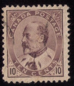 CANADA Scott #93 Used Lightly Cancelled Very Fine