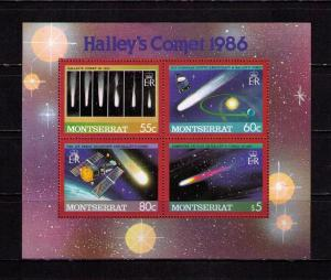 Montserrat MNH S/S 614 Halley's Comet 1986