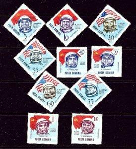 Romania C151-60 MNH 1964 Astronauts    (ap5355)