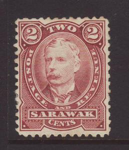 1895 Sarawak 2c Perf 11½-12 Unused SG28