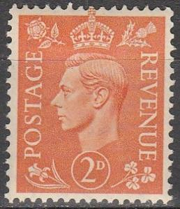 Great Britain #261  MNH   (K879)
